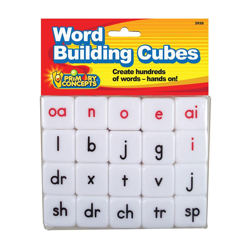 Word Building Cubes