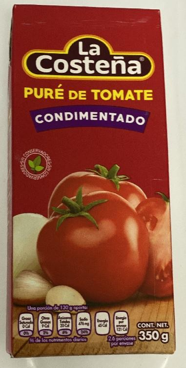 PURE TOMATE COSTEÃ'A BRICK 350ML. PZ. $10.5