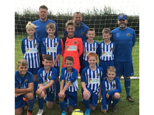 We are proud to be sponsoring Staveley Miners Welfare Lions under 12s football team