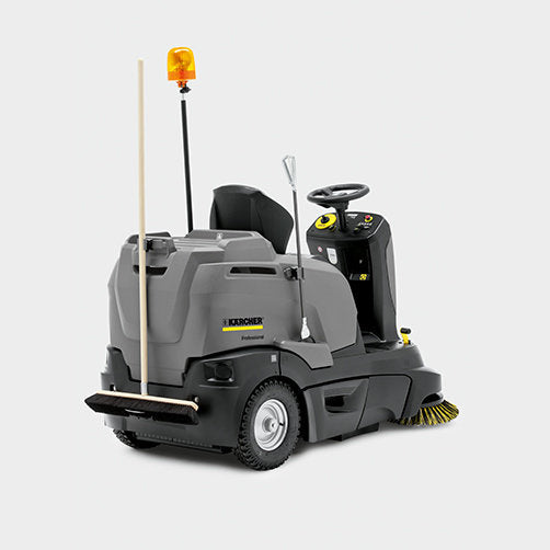 Karcher ride on sweepers