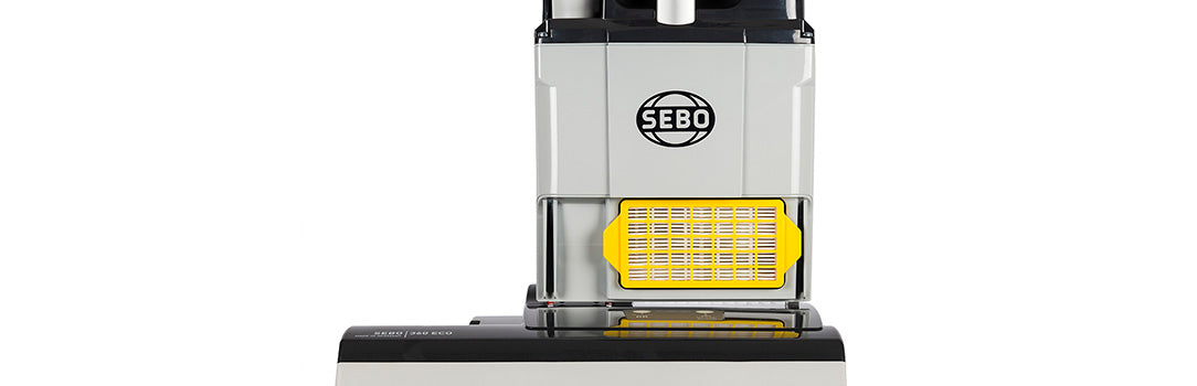 Sebo BS360 With Advanced HEPA Filtration