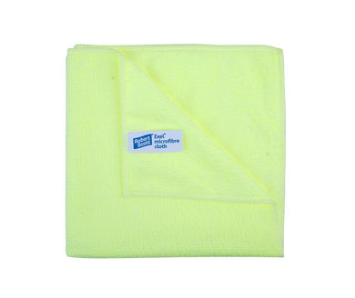 Robert Scott 40x40cm Exel Supercloth Yellow Pack of 10 Cloths