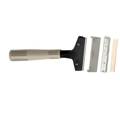 Deluxe Window Scraper with Plastic Handle 22cm -  Window Scraper - Robert Scott