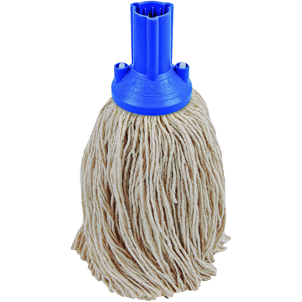 Twine Yarn Socket Mop 150G Excel Fitting - Case of 60 - Blue Colour Coding