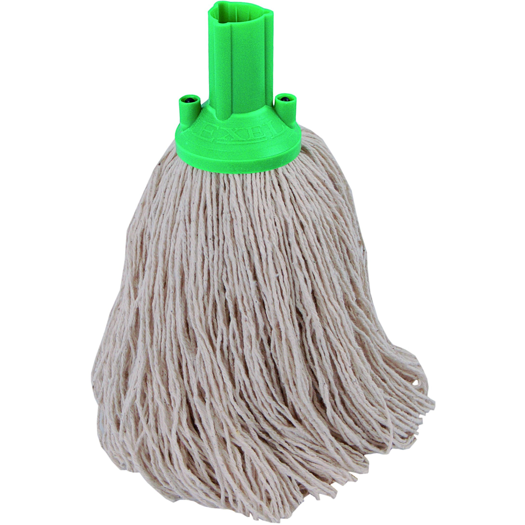 Twine Yarn Socket Mop 200G Excel Fitting - Case of 60 - Green Colour Coding