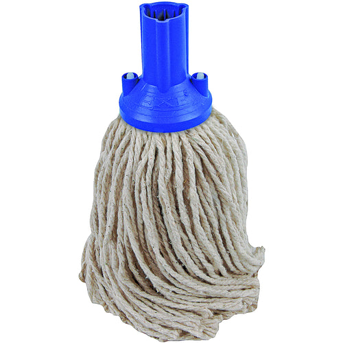 PY Yarn Socket Mop 150G Excel Fitting - Case of 60 - Blue Colour Coding -  Mop - Robert Scott