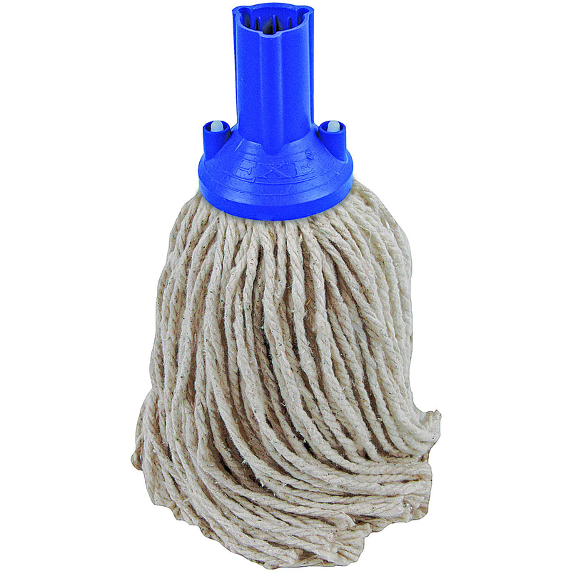 PY Yarn Socket Mop 150G Excel Fitting - Case of 60 - Blue Colour Coding