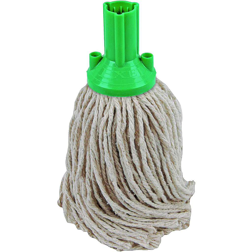 PY Yarn Socket Mop 150G Excel Fitting - Case of 60 - Green Colour Coding