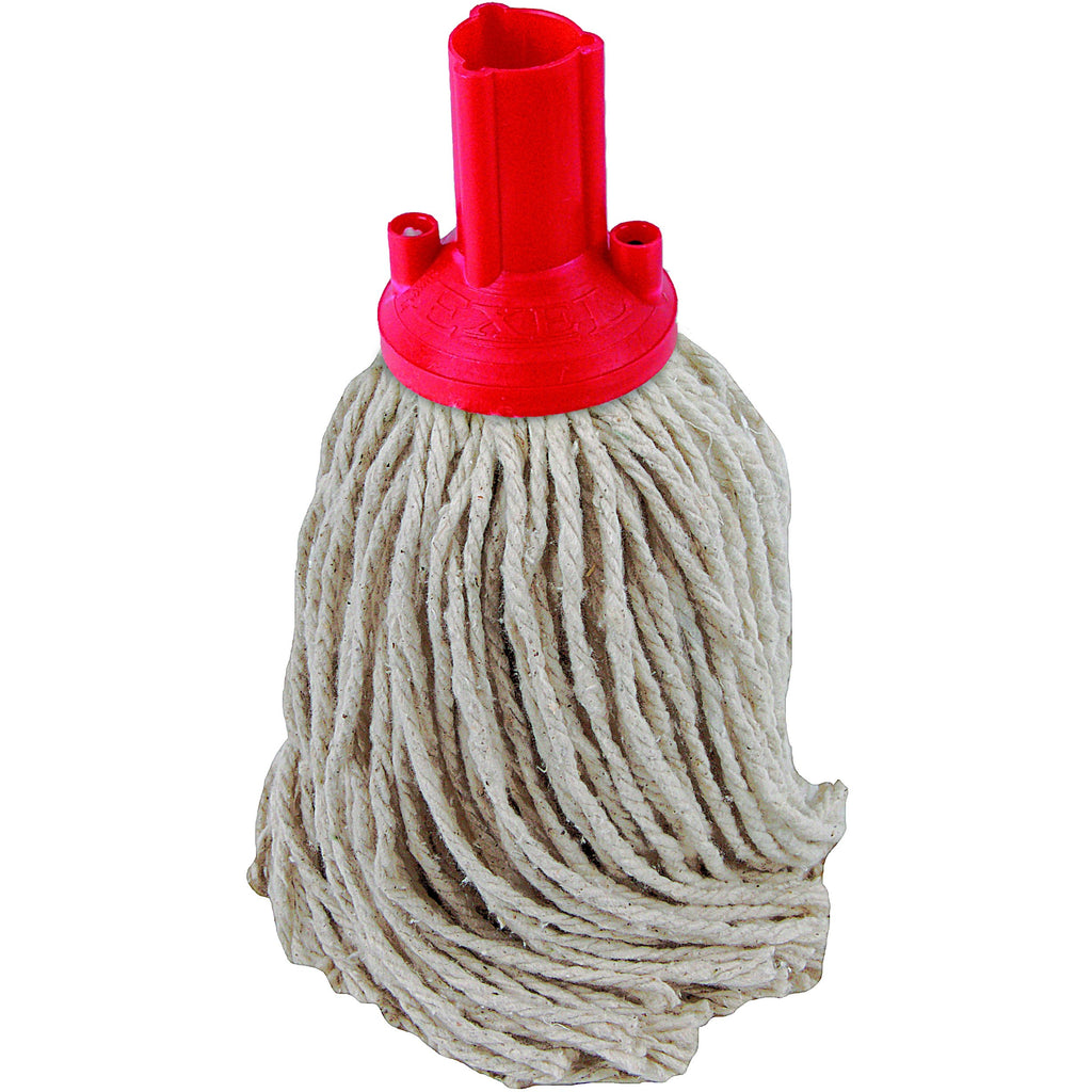 PY Yarn Socket Mop 150G Excel Fitting - Case of 60 - Red Colour Coding