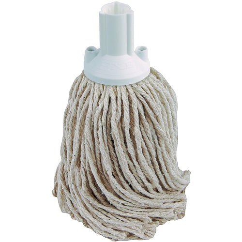 PY Yarn Socket Mop 200G Excel Fitting - Case of 60 - White Colour Coding -  Mop - Robert Scott