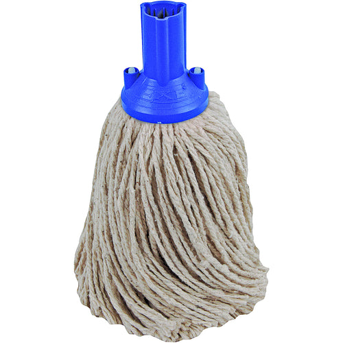 PY Yarn Socket Mop 250G Excel Fitting - Case of 50 - Blue Colour Coding -  Mop - Robert Scott
