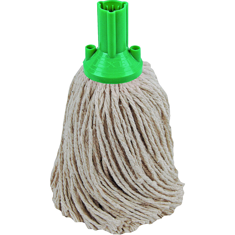 PY Yarn Socket Mop 250G Excel Fitting - Case of 50 - Green Colour Coding
