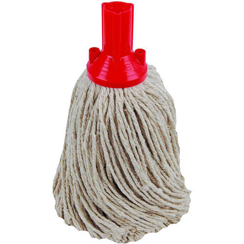 PY Yarn Socket Mop 250G Excel Fitting - Case of 50 - Red Colour Coding -  Mop - Robert Scott