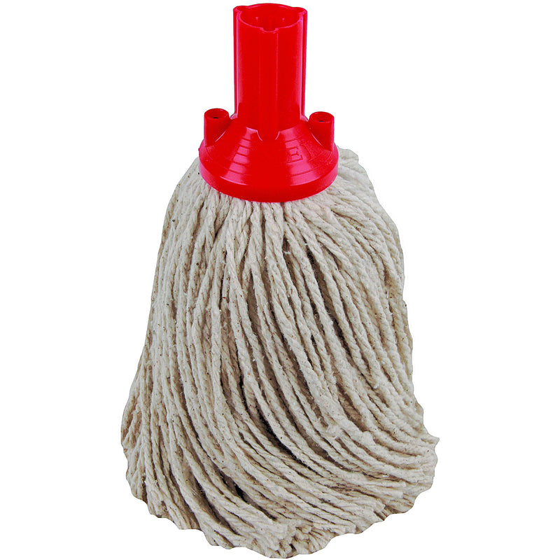 PY Yarn Socket Mop 250G Excel Fitting - Case of 50 - Red Colour Coding