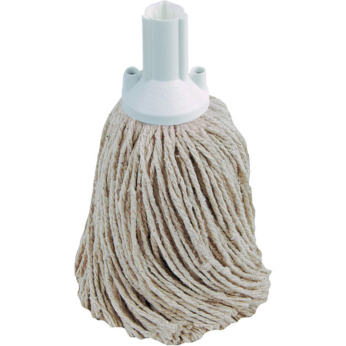 PY Yarn Socket Mop 250G Excel Fitting - Case of 50 - White Colour Coding -  Mop - Robert Scott