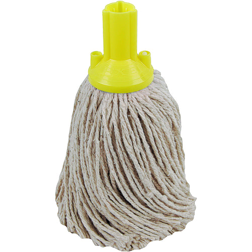 PY Yarn Socket Mop 250G Excel Fitting - Case of 50 - Yellow Colour Coding -  Mop - Robert Scott