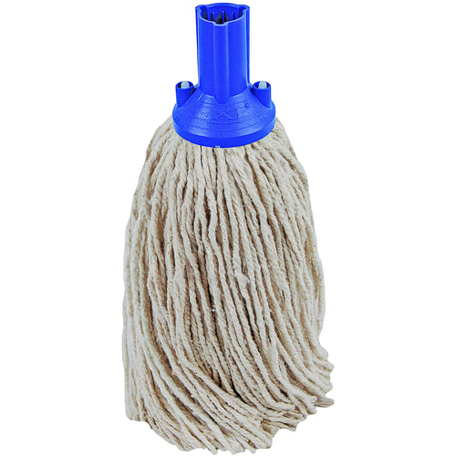 PY Yarn Socket Mop 300G Excel Fitting - Case of 40 - Blue Colour Coding -  Mop - Robert Scott