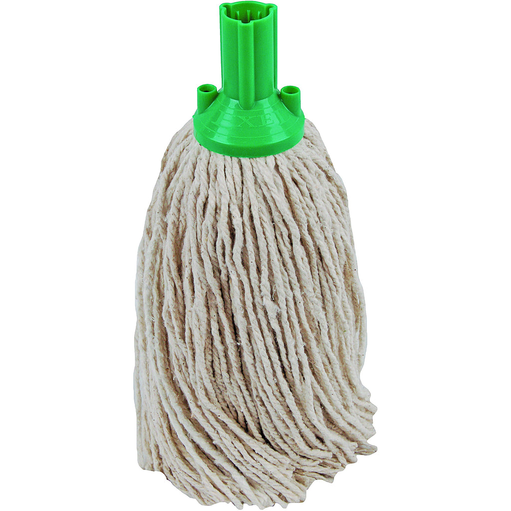 PY Yarn Socket Mop 300G Excel Fitting - Case of 40 - Green Colour Coding