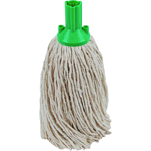 PY Yarn Socket Mop 300G Excel Fitting - Case of 40 - Green Colour Coding -  Mop - Robert Scott
