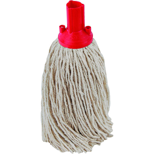 PY Yarn Socket Mop 300G Excel Fitting - Case of 40 - Red Colour Coding -  Mop - Robert Scott