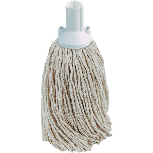 PY Yarn Socket Mop 300G Excel Fitting - Case of 40 - White Colour Coding -  Mop - Robert Scott