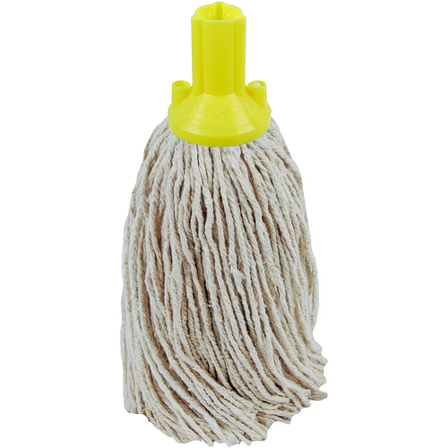 PY Yarn Socket Mop 300G Excel Fitting - Case of 40 - Yellow Colour Coding -  Mop - Robert Scott
