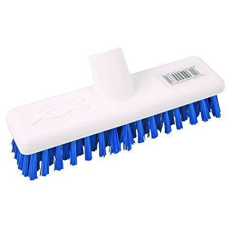 Blue Deck Scrub Brush to Fit Standard Handles