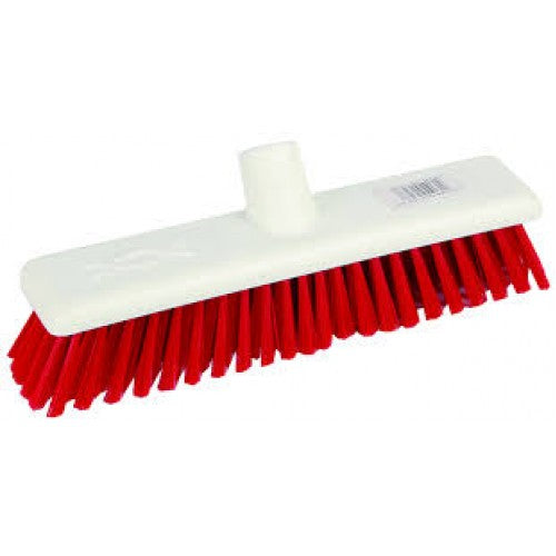 Red Deck Scrub Brush to Fit Standard Handles