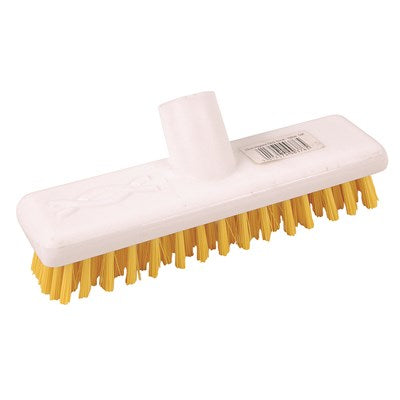 Yellow Deck Scrub Brush to Fit Standard Handles