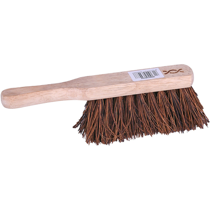 Wooden hand brush - stiff bristles case of 24