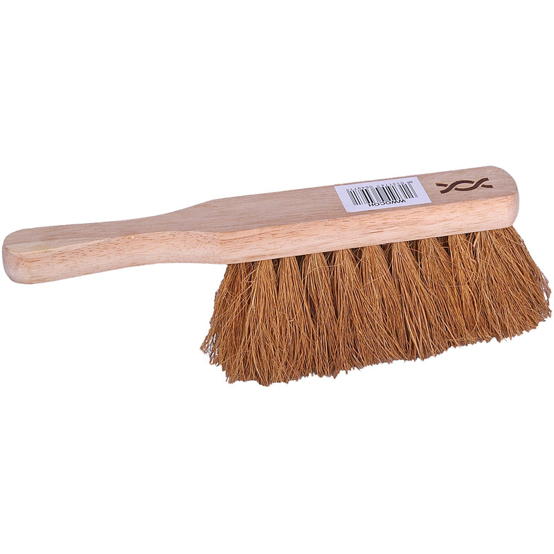 Wooden hand brush - soft bristles case of 24
