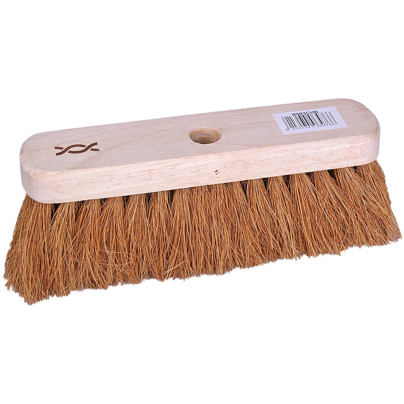 Standard Wooden Broom With Soft Bristles 25cm Case of 12 broom heads