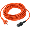 Nilfisk detachable power cable with EU plug to fit VP300, VP600 and Saltix 10. -  Vacuum Cleaner Cable - Nilfisk Alto