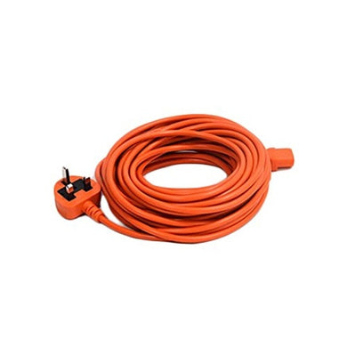 Nilfisk detachable power cable with UK plug to fit VP300, VP600, VU500 and Saltix 10. -  Vacuum Cleaner Cable - Nilfisk Alto
