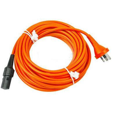 Nilfisk detachable power cable with AUS/ NZ plug to fit VP300, VP600 and Saltix 10. -  Vacuum Cleaner Cable - Nilfisk Alto