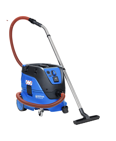 Nilfisk Attix 33-2H PC 240v H Class hazardous dust vacuum cleaner