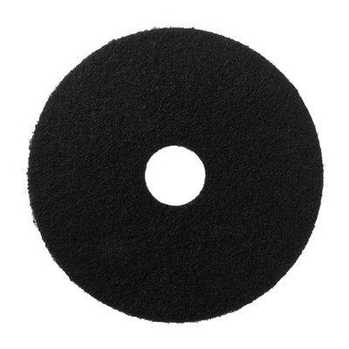 10 inch black floor pads 10
