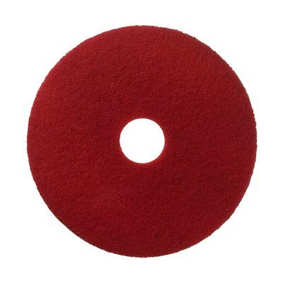 17 inch red floor pads 17