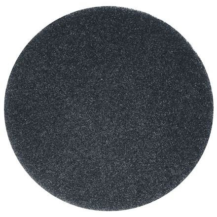 "12 inch black floor pads 11"" 3m Scotchbrite - Pack of 5"