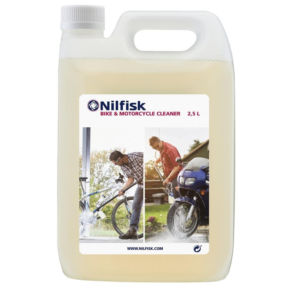 Nilfisk bike and motorcycle cleaner - 2.5 litre