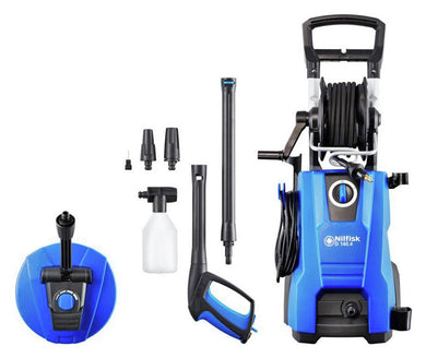 Nilfisk D140.4 X-TRA Powerful Pressure Washer With Accessory Kit