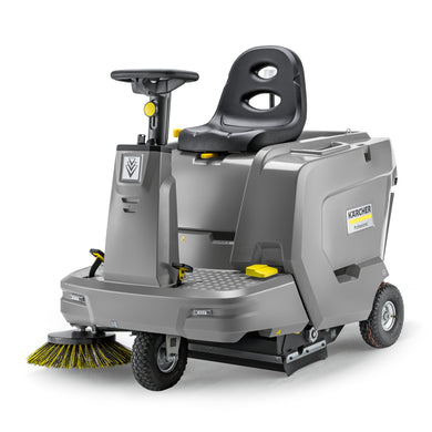 Karcher KM 85/50 R Bp Pack Ride On Sweeper For Indoor And Outdoor Use