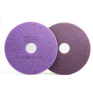 "17 inch purple floor pad 17"" 3m - Pack of 1"