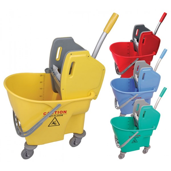 24 Litre Buffalo Mopping Bucket Combo