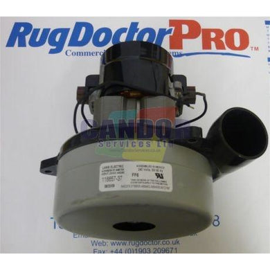 Genuine Rugdoctor 2 Stage Tangental Vac Motor 240v 1050w -  Carpet Cleaner Motor - Rug Doctor