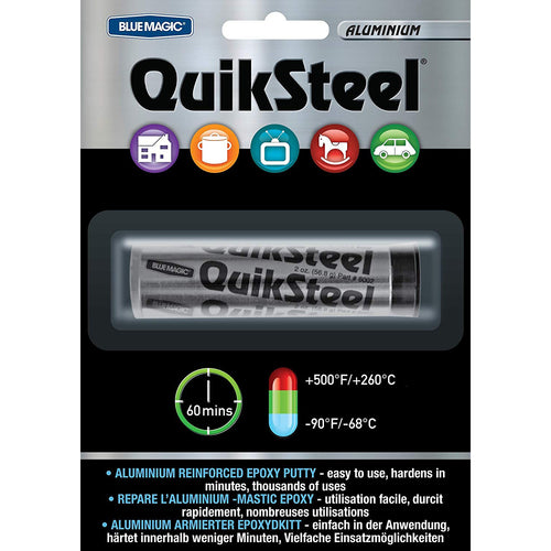 QuikSteel Aluminium Epoxy Putty -  Repair Item - QuickSteel