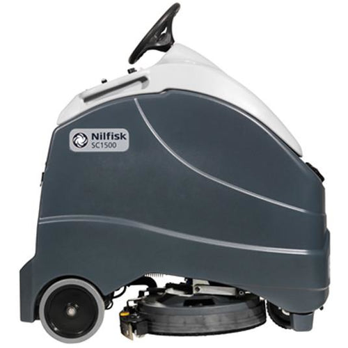 Nilfisk SC1500 51D Stand on scrubber dryer -  Ride on scrubber dryer - Nilfisk Alto