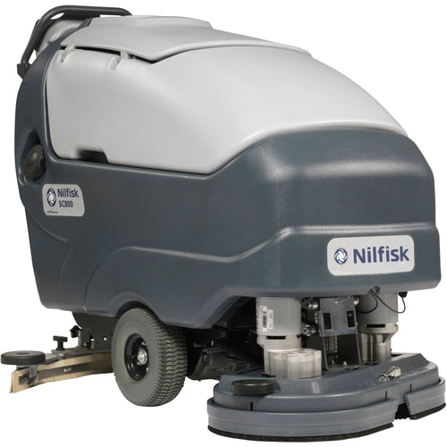 Nilfisk SC800-86 Walk behind scrubber dryer - 860mm scrubbing path -  Walk behind scrubber dryer - Nilfisk Alto