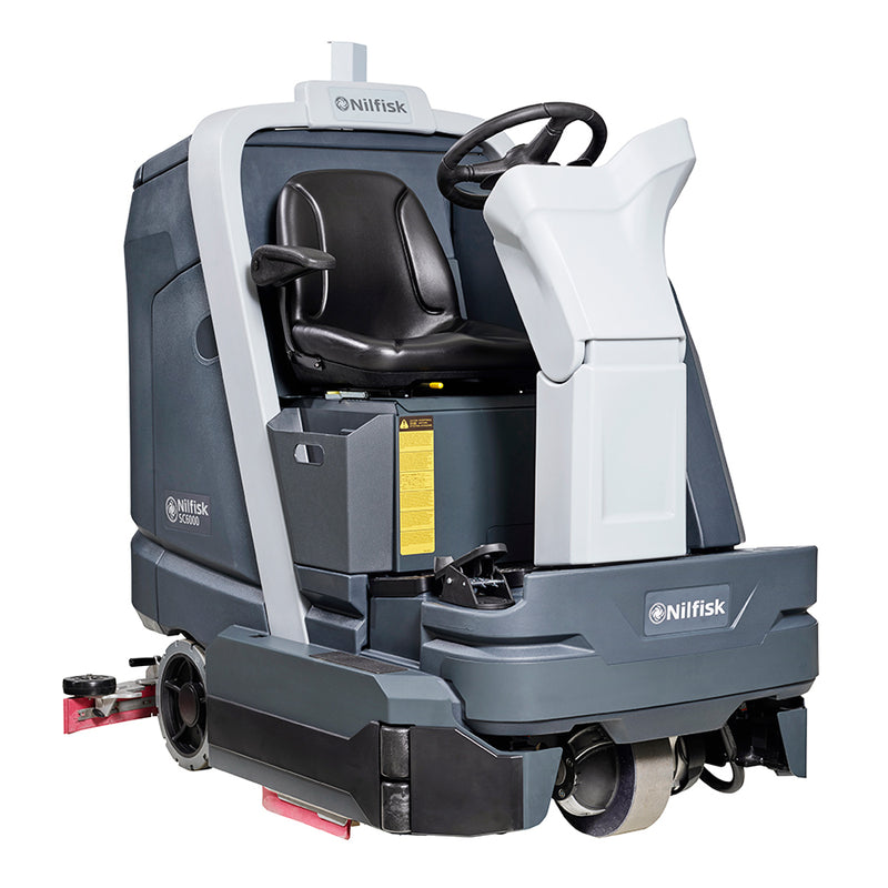 Nilfisk SC6000 860D Ride on scrubber dryer 86cm