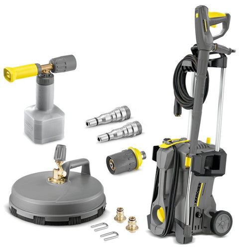 Karcher HD 5/11 P Home And Car Kit - 240v - Professional Portable Cold Water Pressure Washer